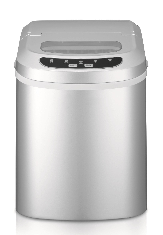 Domestic Countertop Ice Maker : New MAGIC CHEF 27 lb portable ice maker SILVER MCIM22SV 665679004416 ...